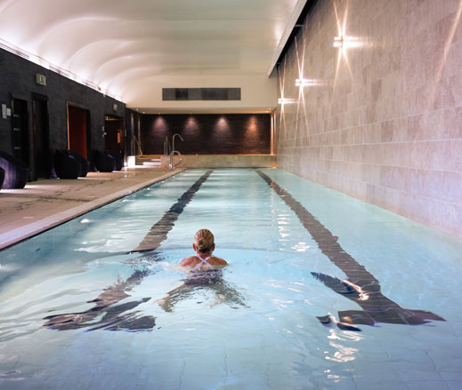 Image of swimmer at Harbour Club Chelsea