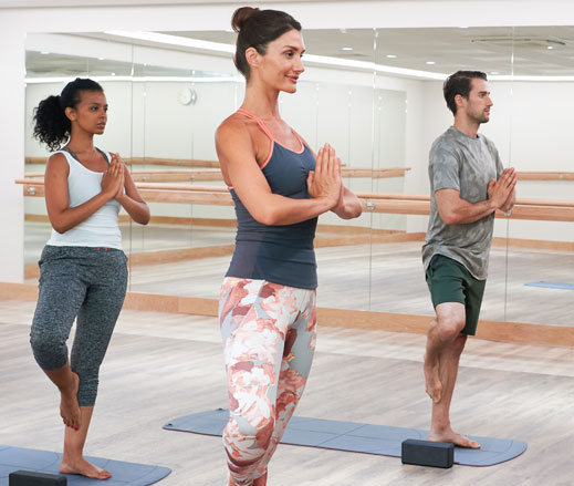 Image of yoga class at Harbour Club Chelsea